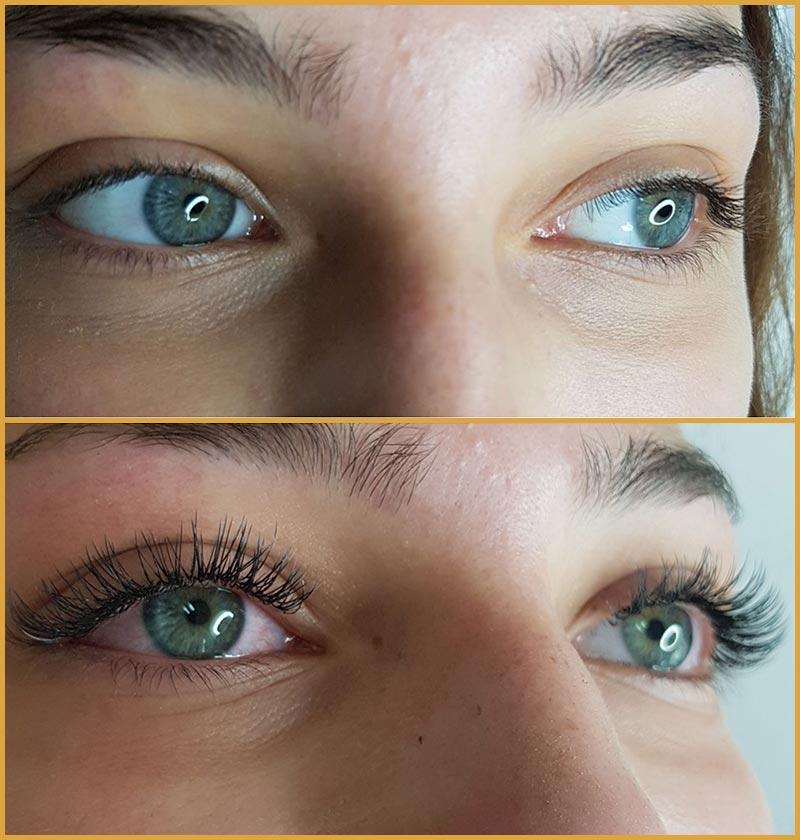 Mascara Look / Glamour Look